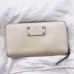 Moderatly used Kate Spade Wallet White